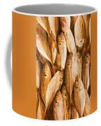 Fish Pattern On Wood Coffee Mug