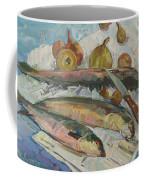 Fish Soup Coffee Mug by Juliya Zhukova
