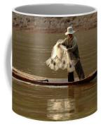 Fisherman Mekong 3 Coffee Mug