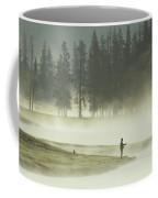 Fishermen In The Morning Mist Coffee Mug