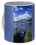 Fishing Boat On Upper Lake, Killarney Coffee Mug