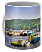 Fishing Boats In Newfoundland Coffee Mug