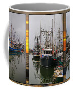 Fishing Boats In Steveston Group Photo Coffee Mug