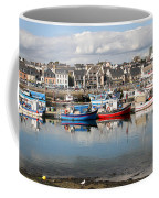 Fishing Boats In The Harbor Coffee Mug