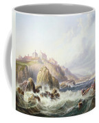 Fishing Boats Off Scotland Coffee Mug