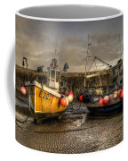 Fishing Boats On The Cobb Coffee Mug
