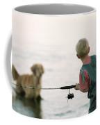 Fishing Boy Coffee Mug