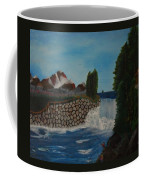 Fishing By The Falls Coffee Mug