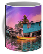 Fishing Camp Twilight Coffee Mug