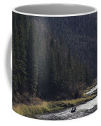 Fishing For Steelhead On The Salmon Coffee Mug