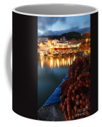 Fishing Harbour At Dusk Coffee Mug