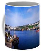 Fishing Harbour, Dunmore East, Ireland Coffee Mug
