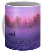 Fishing On The Bow Coffee Mug by Bob Christopher