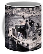 Fishing On The Golden Horn Coffee Mug by Joan Carroll