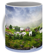 Fishing Village In Newfoundland Coffee Mug