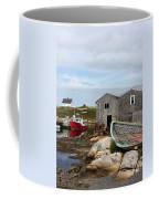 Fishing Village In Nova Scotia Coffee Mug