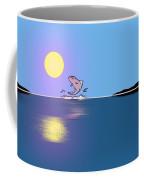 Fishy Sunrise Coffee Mug