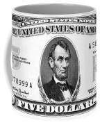Five Dollar Bill Coffee Mug