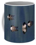 Five Geese Napping Coffee Mug