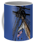 Flag In The Rigging Coffee Mug