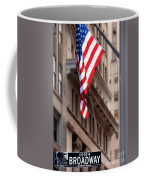 Flag On Broadway Coffee Mug