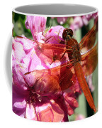 Flame Skimmer Dragonfly Coffee Mug