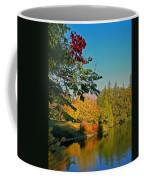 Flame Tree At Lake Spafford Coffee Mug
