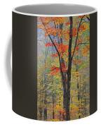 Flaming Fall Foliage Coffee Mug