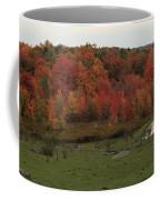 Flaming Foliage Autumn Pasture Coffee Mug
