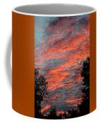 Flaming Sky Coffee Mug