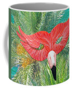 Flamingo Mask 2 Coffee Mug