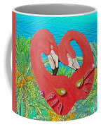 Flamingo Mask 3 Coffee Mug