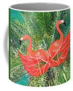 Flamingo Mask 4 Coffee Mug