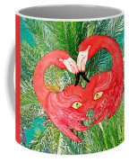 Flamingo Mask 7 Coffee Mug