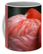 Flamingo Taking A Snooze Coffee Mug