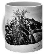 Flee Of Debris Two Coffee Mug