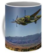Flight Over The Sierras Coffee Mug