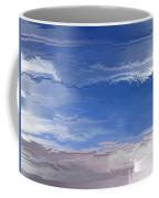 Flight Under Glass Coffee Mug