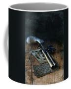 Flint Lock Pistol And Playing Cards Coffee Mug