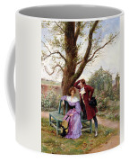 Flirtation Coffee Mug by Georges Jules Auguste Cain