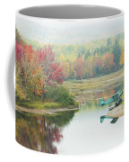 Float Plane On Pond Near Golden Road Maine Photo Poster Print Coffee Mug