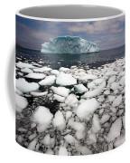 Floating Ice Shattered From Iceberg Coffee Mug