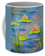 Floating Lilies Coffee Mug
