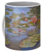 Floating Lillies Coffee Mug by Mohamed Hirji