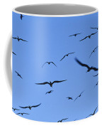Flocking Frigatebirds Riding Coffee Mug