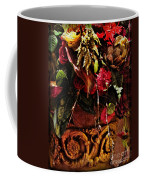 Floral Antique Coffee Mug