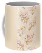 Floral Design With Peonies Lilies And Roses Coffee Mug by Anna Maria Garthwaite
