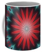 Floral Geometric 102311a Coffee Mug