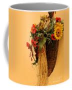 Floral Horn Of Plenty Coffee Mug