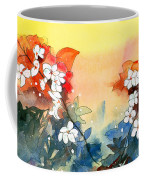 Floral Neklace Coffee Mug by Anil Nene